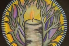 Candle Flame Mandala