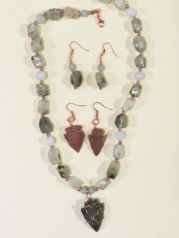 Custom Designed Talismanic Healing Jewelry by Mary Burton