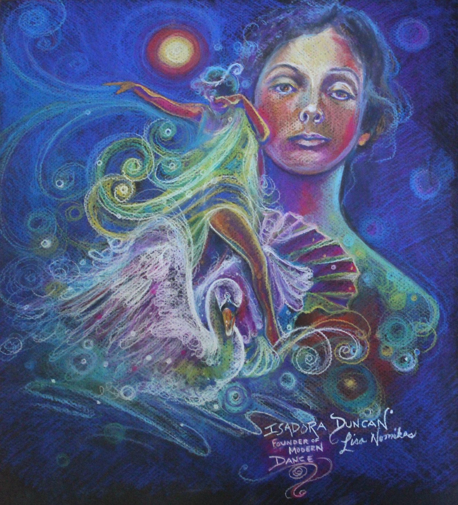 Isadora Duncan, by Lisa Nomikos